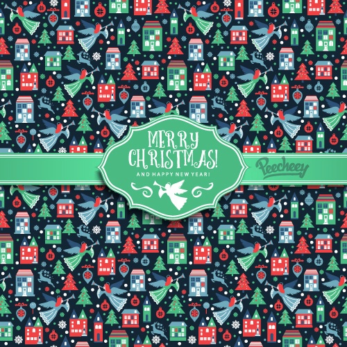 christmas-seamless-blue-pattern